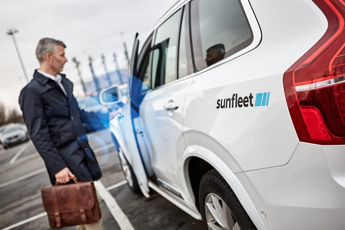 Volvo - Sunfleet - digital nyckel i mobiltelefonen. Nybergs Bil