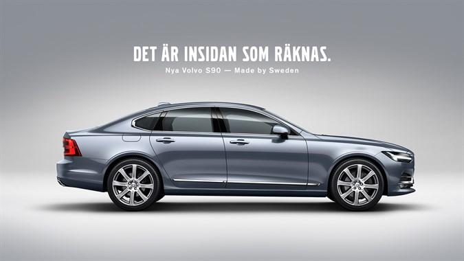 Volvo S90 - Det är insidan som räknas - Nybergs Bil