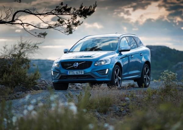 Volvo XC60 är den mest säljande Volvobilen i juli